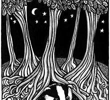 Badger Moon by Anita Inverarity