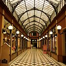 Covered Passage 75002 Paris by Louise Fahy