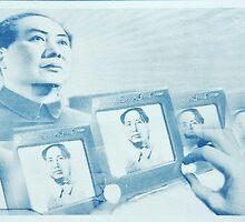 Etch a Sketch Mao by Edwin Meeuwsen