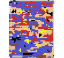 8-bit Digital Camo (Mario) iPad Case/Skin
