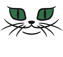 Grinsendes cats face by Style-O-Mat
