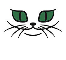 Grinsendes cats face Photographic Print
