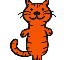 Cool cartoon cat by Style-O-Mat
