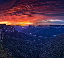 Govetts Leap - 60 secs of bliss by Ian English
