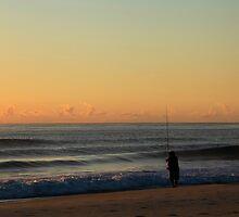 Early Morning Fisherman by Noel Elliot