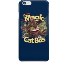 The Magic Cat Bus iPhone Case/Skin