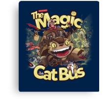 The Magic Cat Bus Canvas Print