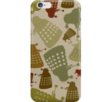Doctor Who - DALEK Camouflage iPhone Case/Skin