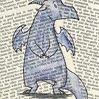 Blue Dragon by GardenDragon