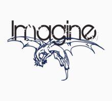 IMAGINE STICKER by cmmartinez2
