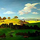 Last light on the Ridge by Guntis Jansons