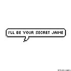 Il be your secret Jaime (Pierce the Veil) by Beth McConnell