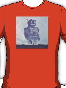 BEWARE THE GIANT ROBOTS! T-Shirt