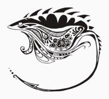 Tribal Stingray by India Boeckh
