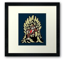Game of Nanners Framed Print