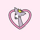 Princess Italian Greyhound by zoel