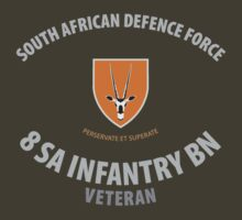 SADF 8 SA Infantry Battalion Veteran Shirt by civvies4vets