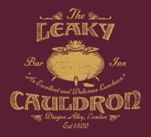 The Leaky Cauldron Bar & Inn by Artpunk101