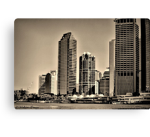 Brisbane City From the River Canvas Print