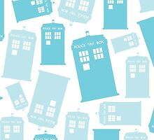 Minty Fresh Tardis by kinxx