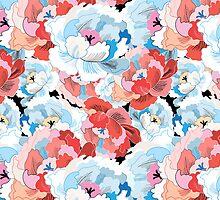 flower pattern by Tanor