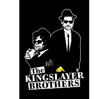 The Kingslayer Brothers Photographic Print