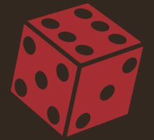 Six Sided Dice by mongoliandevil