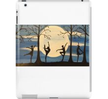 Dance by the light of the moon iPad Case/Skin