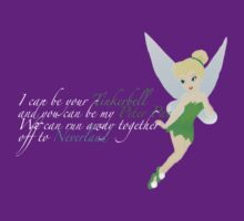 Tinkerbell. For dark colours. by EloisaRelish