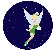 Tinkerbell Starry Sky. by EloisaRelish