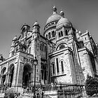 Sacre Coeur, Paris 6 by John Velocci