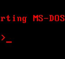 MS-DOS by GorillaDiesel