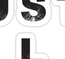 Hustle Christian Sticker