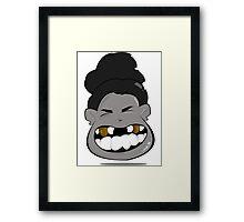 toothless gold Framed Print