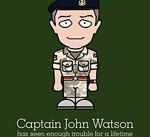 Captain John Watson (card) by redscharlach