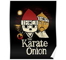 the karate onion Poster