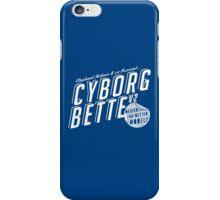 Cyborg Bette iPhone Case/Skin