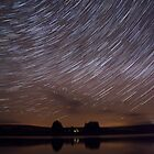 Dark Sky Star Trails by safetygav