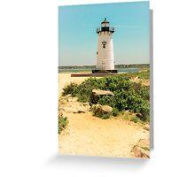 Edgartown Lighthouse, Martha's Vineyard Greeting Card