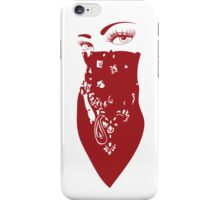 Red Bandana Girl iPhone Case/Skin