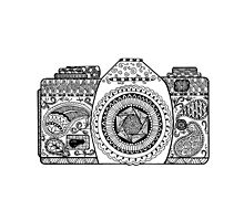 Click! Doodled Camera by DanaElyse