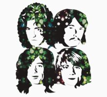LED ZEPPELIN BAND FACES (CITY LIGHTS) by Endlessgrief