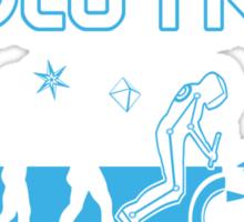EVOLUTRON BLUE Sticker
