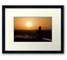 Sunrise over Seronera Framed Print