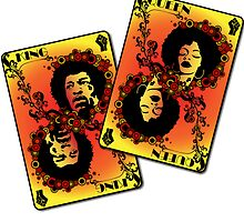 Afro Playing Cards by TheArtPanda