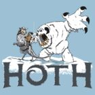 The Frozen Planet of Hoth by SpicyMonocle