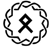 Viking Othala Rune by Asatru