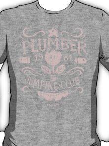 Plumber Jumping Club T-Shirt