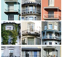 Bristol Balconies by Sue Porter