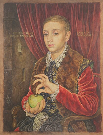 The Grand Budapest presents Boy With Apple by MaxFischer98